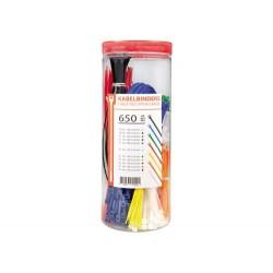 Kabelbinder, 650 Stück