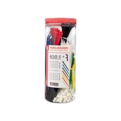 Kabelbinder, 650 Stück +...