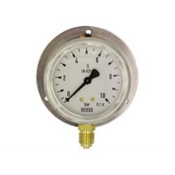 Rohrfedermanometer Messing,...