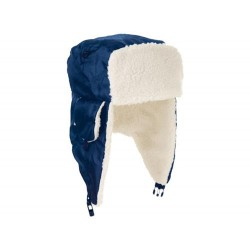 Winterkappe, dunkelblau