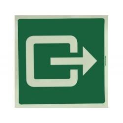 Ausgang-Symbol, Lumineszier