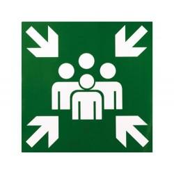Sammelplatz-Symbol