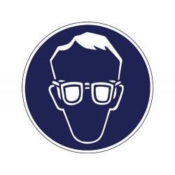 Augenschutz (Brille) ist...