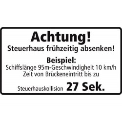 Achtung! Steuerhaus...