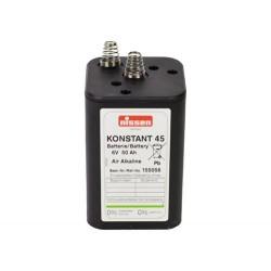 Alkali Blockbatterie 6V...